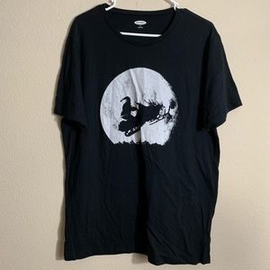 Old Navy Sant on Snowmobile T-Shirt Size XL